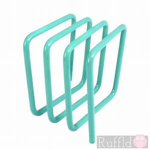letter rack in turquoise With turquoise letters