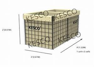 Defensive Hesco Bastion Barrier Mil 2