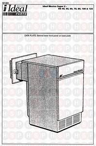 Ideal Mexico Super 2 Rs 100  Appliance Overview  Diagram