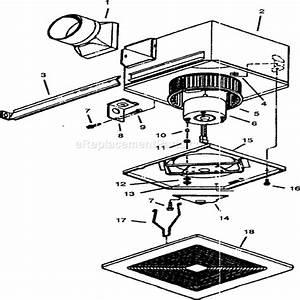 Broan S150 Parts List And Diagram   Ereplacementparts Com