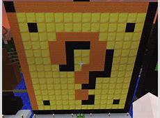 Minecraft Pixel Art Mario Block