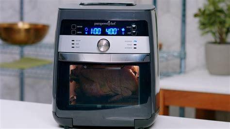 rotisserie chicken   pampered chef deluxe air fryer