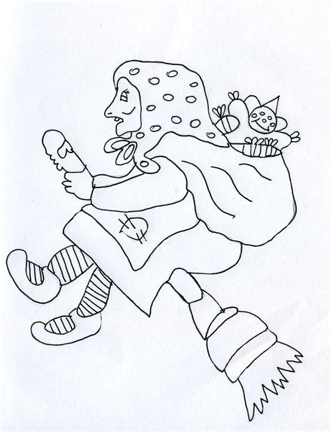 clipart befana gratis disegni befana da stare e colorare gratis