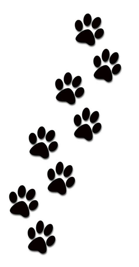 Paws tattoo designs for women kids and everybody paw print cliparts - Clipartix