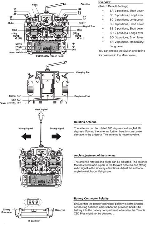 radio taranis xd avec eva case mode  fr sky frsky xdplus  dronelec