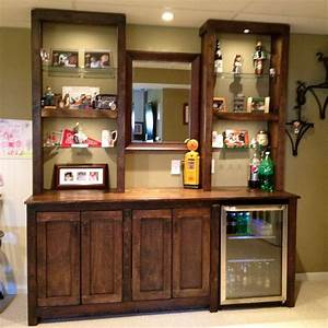 small nature wood bar cabinet for home decofurnish With bar cabinet designs for home