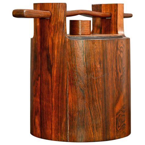jean gillon italma rosewood ice bucket  stdibs