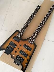Wholesale Best Double Neck Headless Electric Guitar  U0026 Bass