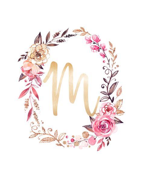 printable glitter  glam monograms  cottage market
