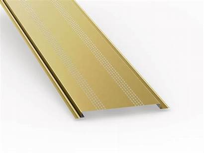 Soffit Metal Panels Vented Roof Low Sheet