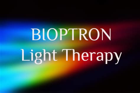 bioptron light therapy booklet healing products highlands healing connection bowral