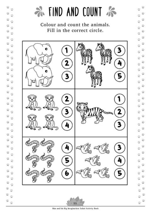safari activity book age    instant  book activities kids activity books