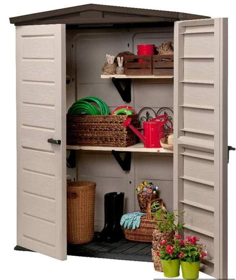 keter woodland high storage shed keter woodland high shed owh1 669 00 landera