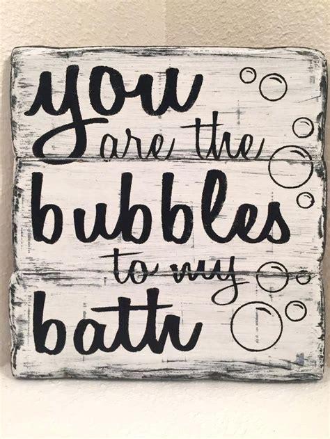 cute bathroom signs    bubbles   bath
