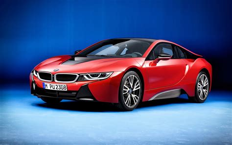 Bmw I8 Protonic Red Edition 2016 Wallpapers