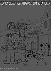 Ausmalbilder Kinder Feuerwehrmann Sam 7 Ausmalbilder
