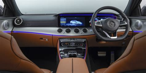 mercedes  class saloon interior infotainment carwow