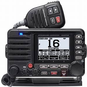 Standard Horizon Gx6500  A Loaded Vhf Radio Also Integrated With Class B Ais