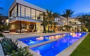 Maison De Riche : maison de luxe miami beach floride architectures et ~ Melissatoandfro.com Idées de Décoration