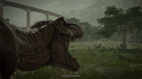 jurassic world evolution neuer trailer zeigt dinos und