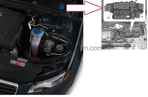 Audi S4 Fuse Diagram by Fuse Box Audi A4 B8