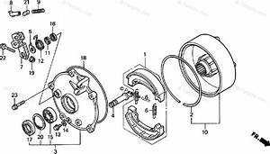 Honda Atv 2000 Oem Parts Diagram For Rear Brake Drum