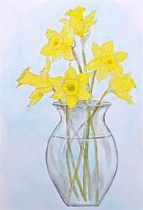 How To Paint Daffodils - Just Paint It Blog