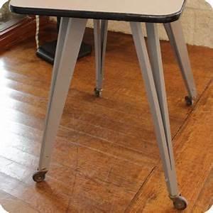 Table Pieds Compas : meubles vintage bureaux tables table roulante pieds compas fabuleuse factory ~ Teatrodelosmanantiales.com Idées de Décoration
