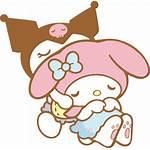 Melody Kuromi Sanrio Transparent Aesthetic Kawaii Kitty