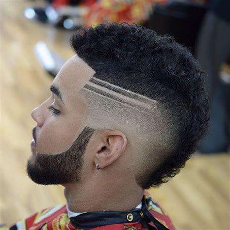 coupe de cheveux homme degrade avec trait comment ladopter