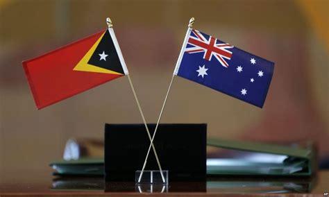 Australia And East Timor Sign Historic Maritime Border