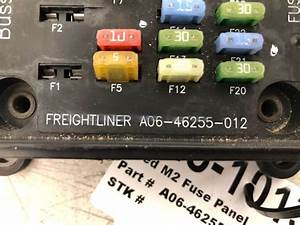 2018 Used Freightliner M2 Fuse Panel For Sale