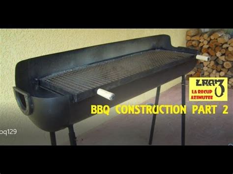 fabrication barbecue bbq construction part 2