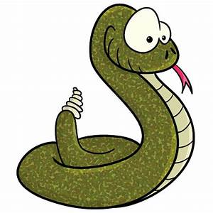 Rattlesnake clipart small snake - Pencil and in color ...
