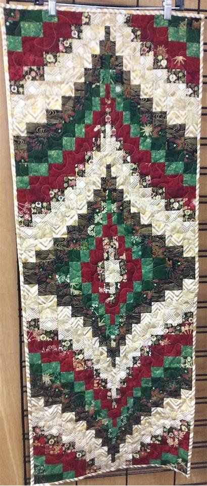 Quilt Runner Table Bargello Kit Includes Fabric