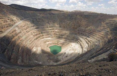 Open Pit by Pit An Option For Tailings As Scans Of Dam Wall