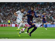 Barcelona inferior to Real Madrid for first time Pique