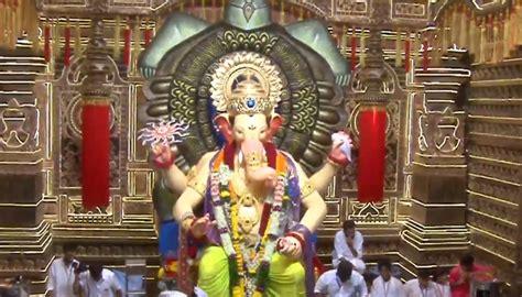 ganesh chaturthi 2017 live darshan of mumbai s lalbaugcha raja spirituality news
