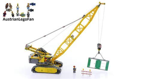 Lego City 7632 Crawler Crane  Lego Speed Build Review