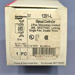 Shop Pass  U0026 Seymour Gray Locking Manual Motor Controller