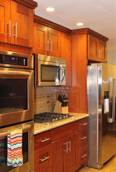 natural american cherry shaker pius kitchen bathpius