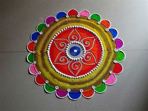 Creative Rangoli Designs Collection For Diwali Functions
