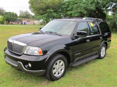 2004 Lincoln Navigator Specs by 2004 Lincoln Navigator Luxury Data Info And Specs