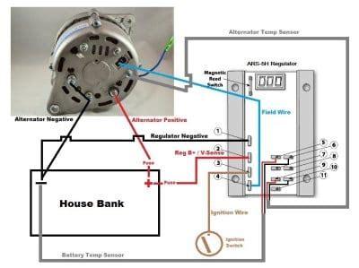 hitachi lr  alternator wiring diagram