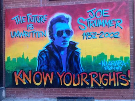 Joe Strummer Mural by 164 Best Images About I Rock And Roll On