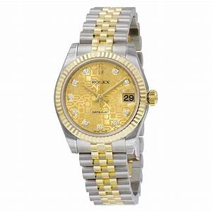 Rolex Datejust Lady 31 Automatic Champagne Dial Stainless ...