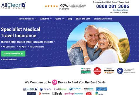9个英国旅游保险购买网站推荐(附各大网站优势对比+网站返利) - Extrabux
