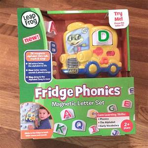 leapfrog fridge phonics magnetic alphabet set frog version With leapfrog fridge phonics magnetic letter