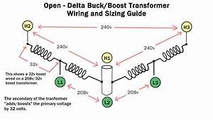 C17 3 Phase 208 240 Buck Boost Transformer Wiring Diagram