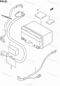 Suzuki Scooter 2006 Oem Parts Diagram For Battery